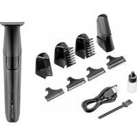 Barbeador Elétrico Multilaser Eb041 Seco 1 Velocidade - Bivolt - Masculino-Preto