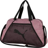 Mala Puma At Ess Grip Bag - Rosa/Preto