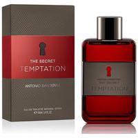 Perfume Antonio Banderas The Secret Temptation Eau De Toilette Masculino   Antonio Banderas   200Ml