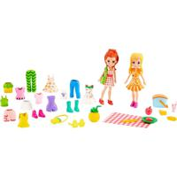 Boneca Polly Pocket Kit Moda Esportiva - Mattel