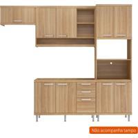 Cozinha Compacta Lobos 9 Pt 3 Gv Argila