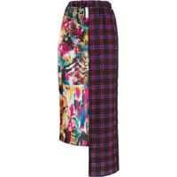 Ultràchic Asymmetric Pleated Skirt - Rosa