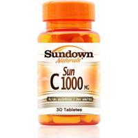 Vitamina Sundown Sun C Sundown Naturals 30 Tabletes