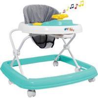 Andador Infantil Styll Baby Musical - Unissex-Verde