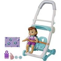 Carrinho De Boneca - Baby Alive Littles - Morena - E7183 - Hasbro