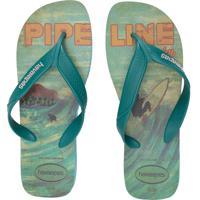 Sandálias Masculina Surf Fc - Azul