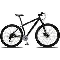 Bicicleta Aro 29 First Smitt 21V Câmbios Shimano Freio A Disco Hidráulico Com Suspensão - Unissex
