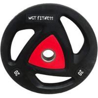 Anilha Olímpica Para Musculação 20Kg Wct Fitness - Unissex