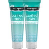 Kit 2 Esfoliantes Facial Neutrogena Purified Skin 100G - Tricae