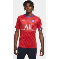 Camisa Nike Psg Pré Jogo 2020/21 Masculina
