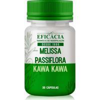 Melissa + Passiflora + Kawa Kawa - 30 Cápsulas