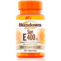 Vitamina E Sundown Naturals Sun E 400Ui 30 Cápsulas
