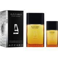 Masculino Pour Perfume Homme Kit 100ml30ml Edt Azzaro On0w8kP