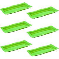 Saladeira Vemplast Moove Rasa Verde - Verde - Dafiti