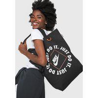 Bolsa Nike Sportswear Heritage Tote Gfx Jdi Preta