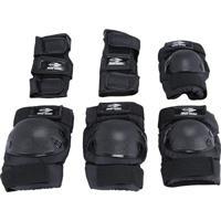 Kit De Proteção Para Patins E Skate Preto Mormaii - Unissex