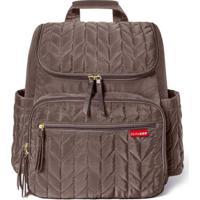 Bolsa Maternidade Skip Hop Coleção Forma Backpack - Masculino-Marrom