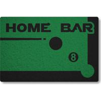 Tapete Capacho Home Bar - Verde Bandeira