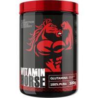 Glutamina 100% Pura - 300G - Vitamin Horse - Unissex