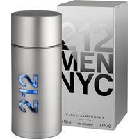 Perfume Masculino 212 Men Carolina Herrera Eau De Toilette 100Ml - Masculino-Incolor