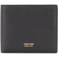 Tom Ford Carteira Com Logo Gravado - Preto