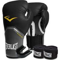 Kit Boxe Elite Everlast 8Oz - Unissex
