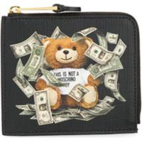 Moschino Carteira Estampada 'Teddy Bear' - Preto