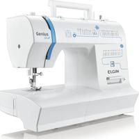 Máquina De Costura Jx4035 Genius Plus 220V- Elgin - Branco