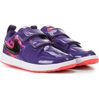 Tênis Infantil Nike Pico 5 Auto Psv Velcro Verniz - Unissex