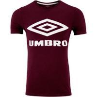 Camiseta Umbro Twr Paint Graphic - Masculina - Vinho