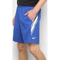 "Short Nikecourt Dri-Fit 9"" Masculino - Masculino-Azul"