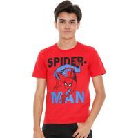 Camiseta Juvenil Homem Aranha Marvel Marisa