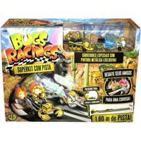 Veículo E Pista De Percurso - Bugs Racing - Super Pista - Dtc