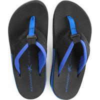 Chinelo Kenner Action Gel Ultra Masculino - Masculino-Preto