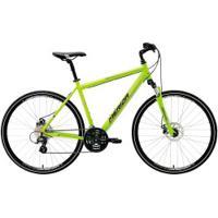 Bicicleta Merida Crossway 15 Md - Aro 700 - Freio A Disco Mecânico - Quadro 48Cm - 24 Marchas - Verde Cla/Cinza Cla
