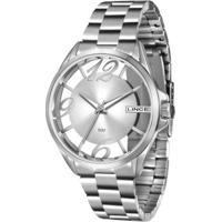 Relógio Feminino Lince Analógico Lrm604L S2Sx - Unissex-Prata