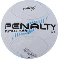 295e82a363 ... Bola De Futsal Penalty Rx Fusion Viii - Branco Azul