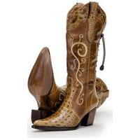 Bota Capelli Boots Em Couro Country Marrom