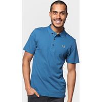 Camisa Polo Lacoste Sport Tennis Regular Masculina - Masculino-Azul