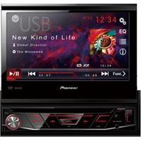 """Dvd Player Automotivo Pioneer Avh-3880Dvd Com Tela De 7"""" Touch Screen, Entrada Auxiliar Frontal, Usb, Rádio Am/Fm E Controle Remoto"""