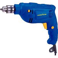 Furadeira De Impacto 600W 220V Azul E Amarela