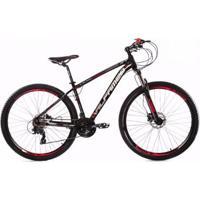 Bicicleta Aro 29 Alfameq Zt Suspensão Com Trava 21 Marchas Câmbios Shimano - Unissex