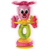 Brinquedo Educativo - Figura Flor Com Abelhinha - Com Luzes E Sons - Vtech - Yes Toys