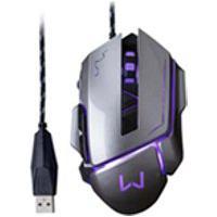 Mouse Multilaser, Gamer Warrior Ivor 3200 Dpi, Grafite Mo262