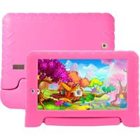 "Tablet Infantil Multilaser Kid Pad Nb279 7"" 8Gb Wi-Fi Rosa"