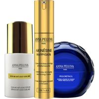 Kit Solução Antirrugas Global Anna Pegova - Anti-Idade Firmador Akinésine Ah 25Ml + Sérum Anti-Idade Sublime 25Ml + Creme Noturno Pegoretinol 40Ml