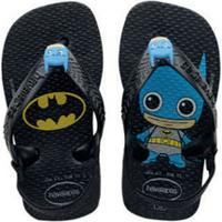 Chinelo Infantil Batman Havaianas 0090