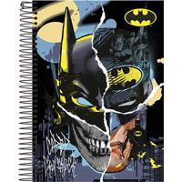 Caderno Espiral Foroni Capa Dura Batman 96 Folhas