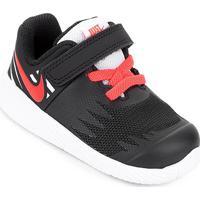 Tênis Infantil Nike Star Runner Masculino - Masculino-Preto+Branco