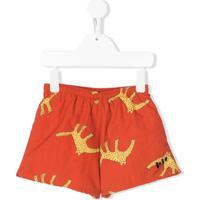 Bobo Choses Leopard Print Swim Shorts - Laranja